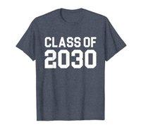 Classe de 2030 Premier jour d'école Cool grandir avec moi T-shirt