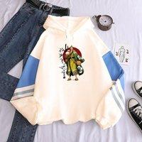Männer Hoodies Sweatshirts Japan Anime One Piece Zoro Roronoa Drucken Patchwork Mit Kapuze Frauen Winter Warme Pullover Mode Streetwear Männlich