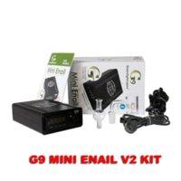 G9 Mini Enail V2 FAI DA TE ELETTRONICO ELETTRONICO DNAIL DNAIL KIT cera Vaporizzatore di controllo del vaporizzatore del vaporizzatore DABBER Strumento DAB