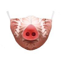 이탈리아 DHL 마스크 프린트 해골 스페인은 깃발을 지키는 얼굴 마스크 직물 성인 보호 PM2 1IVG 7