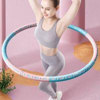 Rimovibile in acciaio inox Sport Hopdomen fitness cerchio perdere peso home bodybuilding esercizio crossfit allenamento fitness