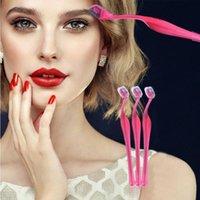 Eyebrow Tools & Stencils Portable Makeup Eye Brow Razor Blade Trimmer Shaver Face Hair Cosmetics Shaper Tool Set Remover Fashion Wom P6P7