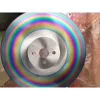 10 pollici 275 * 1.0 * 32mm HSS-M42 Strumenti ad alta velocità Apol Taglio dell'acciaio inossidabile Acciaio inossidabile Sweat Blade Slitting Wheel Rainbow