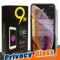 Anti-Spion-Datenschutzglas für iPhone 13 11 12 PRO MAX XR XS 7 8 Plus Screen Protector Privacy Tempered Glass für 6s 8 plus xs max mit Retail Box
