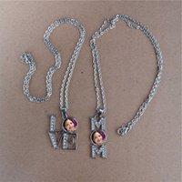 Sublimationsmutter-Halsketten Anhänger für den Muttertag heiße Transferdruckmaterialien Verbrauchsmaterialien