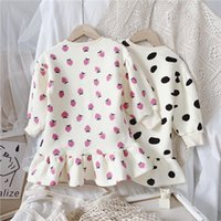 Thunderers Girls Strawberry Cow Dress 2021 Spring New Girls ...