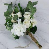 2021 Fairy Bridal Bouquet Wedding Flowers Garden Style Bouquets 28*45cm