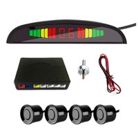 Smart Car LED Display Detector System Tools Backlight Reverse Auto Parking Radar Monitor Sensor With 4 Sensors Tool