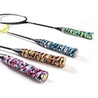 Badminton Sets Sports en plein air Camouflage Tennis Raquette Grip anti-dérapant Sweat Ruban absorbant SURVITURE TIGNAUX DE PAINTURE N22 19