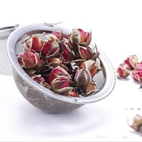 304 Stainless Steel Tea Strainer Tea Pot Infuser Mesh Ball Filter With Chain Tea Maker Tools Drinkware Wholesale EWA3867