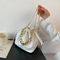 Evening Bags Women's Bag Leisure Bucket Fashion Chain Handbag Shoulder Messenger Women