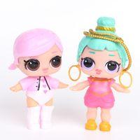 lol 8 teile / satz lols puppe figuress ornamente spielzeug konfetti glitter serie action figuren anime für kinder spielzeug fors mädchen