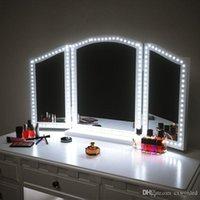 LED Makyaj Aynası 13ft 4 M 240 LEDS Vanity Ayna Işıkları LED Şerit Kiti Işık Ayna Makyaj Masası için Dimmer ve Güç Kaynağı Ile Set