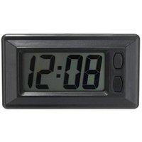 Décorations d'intérieur 1pcs Digital LCD Accueil Table de bureau Carboard Dashboard Date Date Calendrier Petite horloge avec Stickers Automobile Fournitures