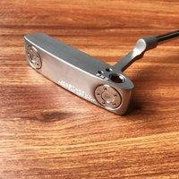 Toppkvalitet Silverfärg Masterful T-Only Golf Putter + Putter Headcover Real Pics Kontaktförsäljare Alla 2 putters Få stora rabatter