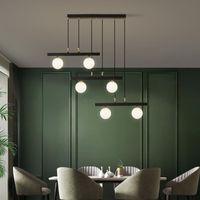 Chandeliers Black Copper Luxury Chandelier Modern Simple Dining Room Corridor Crystal Hanging Lamp Bar Entrance LED Bedroom Bedside Lighting