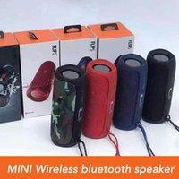 Mini Flip 5 Portable Speakers Wireless Bluetooth Speaker Water Dance Bass Channel Music player Kaleidoscope Audio ready in stock
