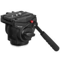 Kingjoy VT-3510 Liga de Alumínio Vídeo Tripé Cabeça Cabeça De Câmera De Câmera De Cabeça De Fluido