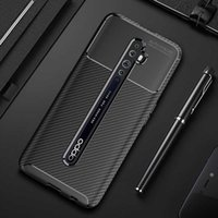 Pour Oppo Reno 2 2Z 2F ACE 10X Couverture Zoom Slim Soft Soft Silicone Rugger Gel Cover Couvercle Drop-Rom franchique