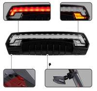 X5 intelligente hintere Fahrradlicht Fahrradlampe Laser LED USB wiederaufladbare drahtlose Fernabdrehungssteuerung Radfahrenschrank-LED-Licht 264 W2