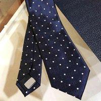 mens tie business silk Ties Luxurys Design silks necktie High-end Men Accessories for formal occasions Neckties fashion wedding party
