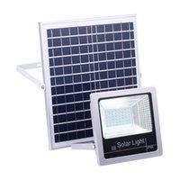 1PC 40W / 60W / 80W / 100W / 120W 방수 태양 전원 LED 홍수 빛 야외 보안 스포트 라이트 솔라 투광 조명 원격 제어
