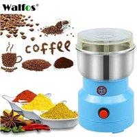 Электрические кофемолки кухонные зерновые орехи бобовые специи зерна шлифовальные машины многофункциональный дом Coffe 210713