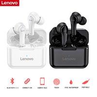 Originale Lenovo QT82 Auricolari Bluetooth wireless Bluetooth Touch Control Stereo HD Voice 400mAh Auricolare vs Lenovo LP1S Auricolari