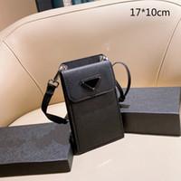 2021 유니섹스 미니 전화 가방 디자이너 크로스 바디 스마트 폰 가방 단일 어깨 패션 레이디 미니 변경 지갑 삼각형 PD2012101