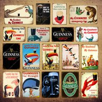 My Goodness My Guinness Metal Painting Wall 2021 Poster Vintage Bar Pub Decorative Plaque Home Decor Beer Advertising Wall Tin Sign YI-056