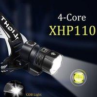 1000000lm XHP110 poderoso farol lanterna xhp90.3 LED USB XHP50.2 Farol recarregável18650 zoom cabeça tocha luz
