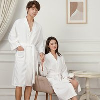 Women's Sleepwear Long Sleeve Soft Nightgown Kimono Robe Women Towel Bathrobe Gown Casual Autumn Home Clothing Intimate Lingerie