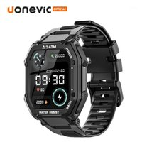 Uonevic SmartWatch C16 3atm Deep Impermeabile Sport Smart Watch Uomo Polsino fitness Outdoor per le donne Attività Trackers1
