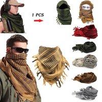 Cycling Caps & Masks 1 PCS Winter Women Men Windproof Warmer Military Scarf Muslim Hijab Shemagh Scarves Tactical Desert Arab KeffIyeh Shawl