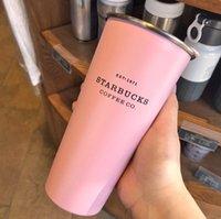 Son 16 oz Starbucks Paslanmaz Çelik Kahve Fincanı Kapaklı, Starbucks Vakum Şişesi Çeşitli Stilleri, Ücretsiz Kargo 116 S2