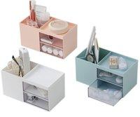 Vosaidi maquiagem organizador, jóias e caixas de cosméticos, porta de armazenamento de paleta cosmética titular de exibição para escovas, batons, jóias, bomba de loção