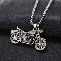 necklace Harley Motorcycle pendant men's trendy motorcycle personalized long female hip hop sweater chain