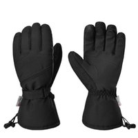 Ski Gloves Winter Outdoor 3M Plush Lined Mountaineering Waterproof Warm