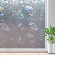 Window Stickers LUCKYYJ Film Privacy, Decorative Sticker,Static Cling Self-adhesive Glass Anti UV For Door Decor