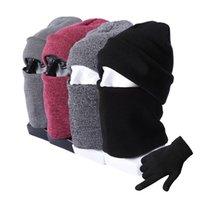 Hats, Scarves & Gloves Sets Winter Hat And Scarf Set Women Men Warm Kit Accessories For Cashmere Bennie Hats