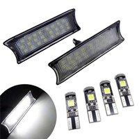 1 Takım Araba LED Çatı Işıkları Okuma Lambası Ampul Seti Hiçbir Hata 12 V Oto Aksesuarları BMW E90 E92 E93 3 Serisi için