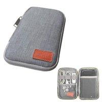 세면 용품 키트 휴대용 여행 키트 작은 가방 휴대 전화 케이스 디지털 가젯 USB 데이터 케이블 이어폰 주최자 스토리지 액세서리