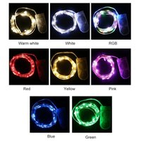 2m 20leds LED Fairy Light Mini Christmas LED-Decoration Toys Copper Wire String-Light Waterproof Battery for Wedding Xmas Garland Party