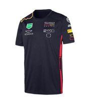 Camicia a maniche corte della stagione della squadra della squadra di racing della F1, Giacca da asciugamento rapido dell'automobile, Giacca da asciugamento della cultura dell'automobile Il logo dei tutili di appassionati di cultura può essere personalizzato