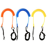 Kayak Paddleboarding Surfboards Leashes Leg Rope 3 Meter 10 FeetCoiledLeash Stand Up Paddle Board Surfboard Surfing Accessories