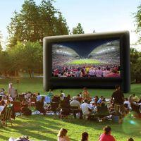 30/400FT открытый гигантский надувной экран проектора экрана фильма TV фильма для больших событий вечеринок театра