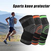 Локоть колен Pads Pads Easy Bandage Trassurized Дышащая дышащая поддержка защитника для фитнес-спортивного бегущего артрит мышечный сустав Brace1