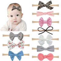 Baby Cartoon Headbands Suits Cute Soft Leopard Printed Bows ...