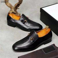 Nuovo! Top Mens Luxury G Designer Ace Dress Shoes Shoes Black Brown in pelle scamosciata in pelle casual Mocassini da uomo Slip on Punted Oxford Scarpe con scatola