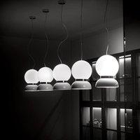 Pendant Lamps Glass Ball Chandelier Milk Tea Shop Restaurant Bar Coffee Lighting Nordic Creative Cute Modern